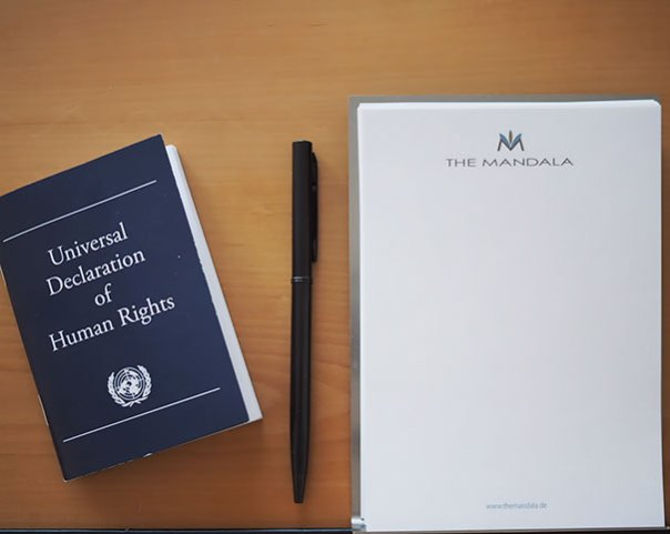 Instead Of A Bible, This German Hotel Leaves A Copy Of The Un's Declaration Of Human Rights