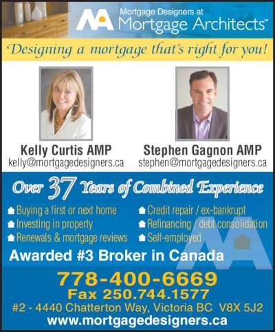 Mortgage Architects - Opening Hours - 2-4440 Chatterton Way, Victoria, BC
