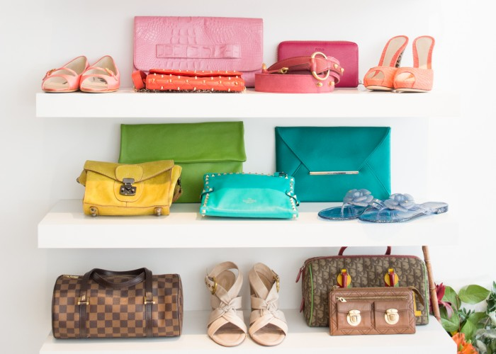 In addition to designer womenswear fashions, Mine & Yours also carries luxe accessories to complete your look from head to toe.