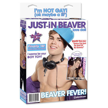 justin beaver unboxing