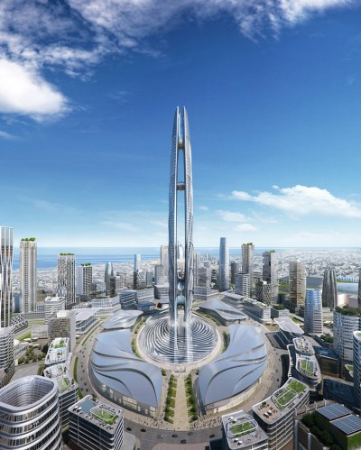 ruler of dubai's fingerprint will form base of the UAE's second tallest tower