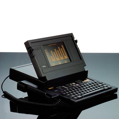 Bill Moggridge GRiD Compass computer