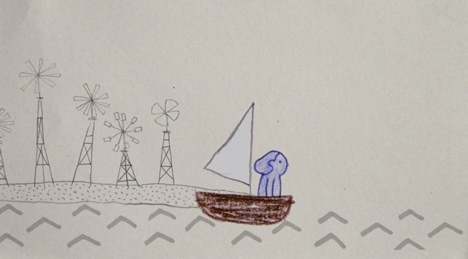 I Like It When You're Gone music video by Rosanna Wan for Tom Rosenthal