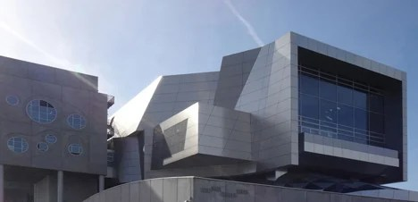 Coop Himmelb(l)au's House of Music concert hall in Aalborg, Denmark