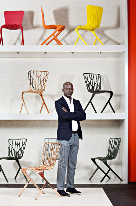 David Adjaye Washington chair chair collection for Knoll Milan 2014