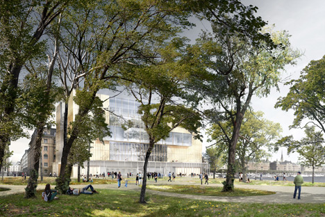 David Chipperfield triumphs in Nobel Center competition