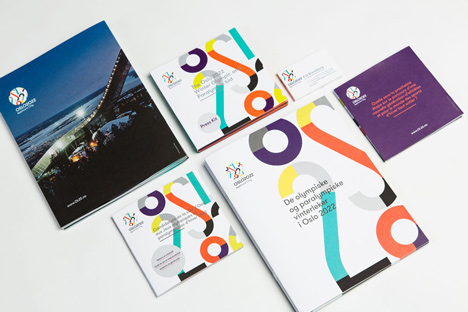 Snohetta designs visual identity for Oslo 2022 Winter Olympics bid