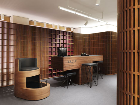 Bally interior by David Chipperfield