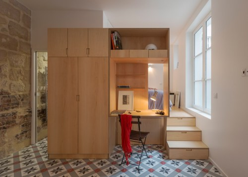 Medium Of One Room Studio Apartment