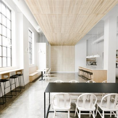 Casework Turns Portland Industrial Building Into Collaborative Workspace Interior Design