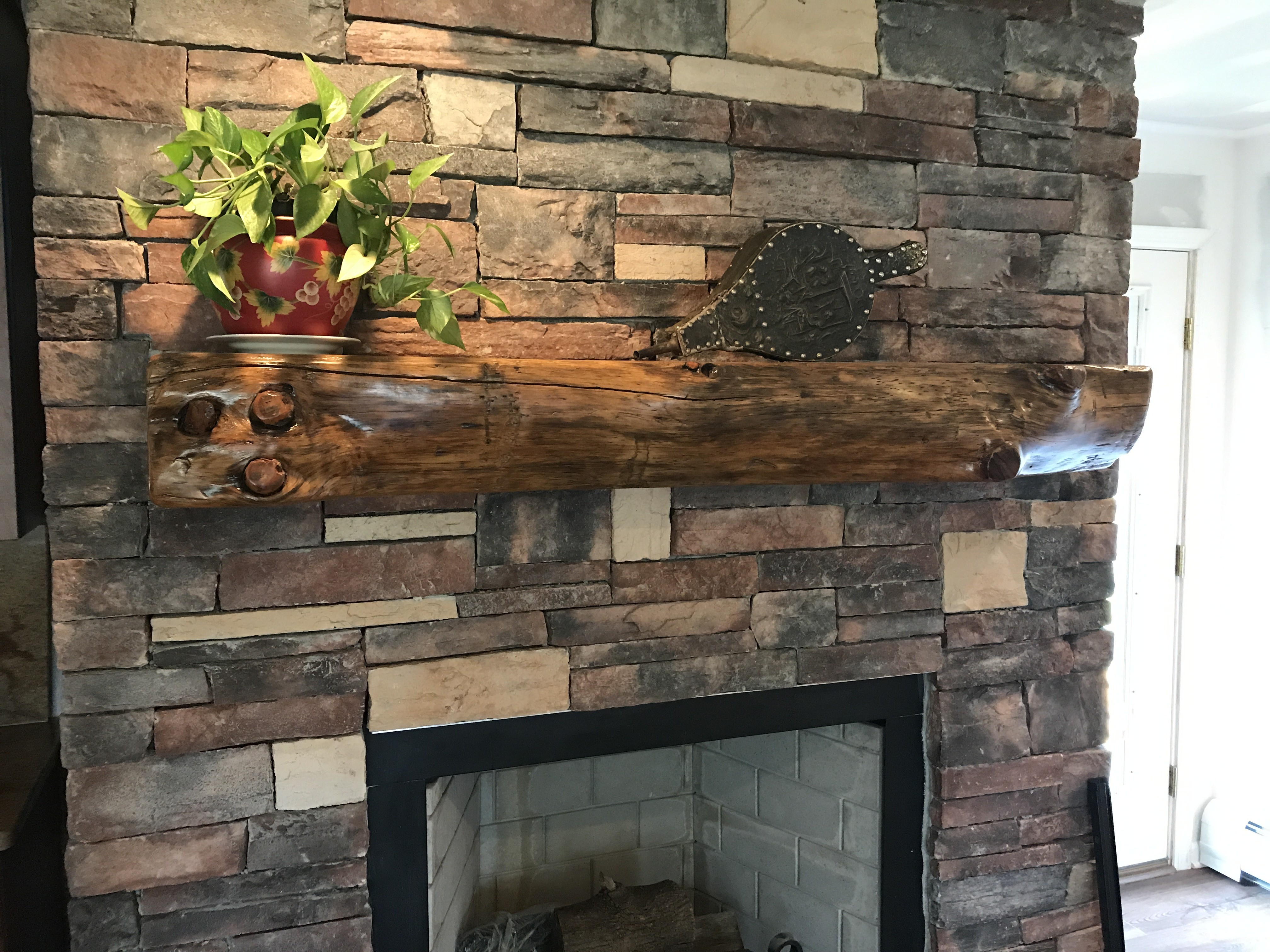 Fullsize Of Reclaimed Wood Mantel