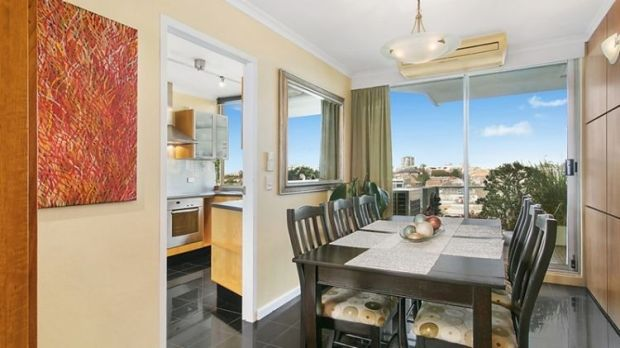 The dining room at 32/163 Willoughby Road, Narremburn.