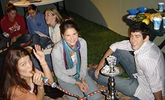 hookah in the sukkah