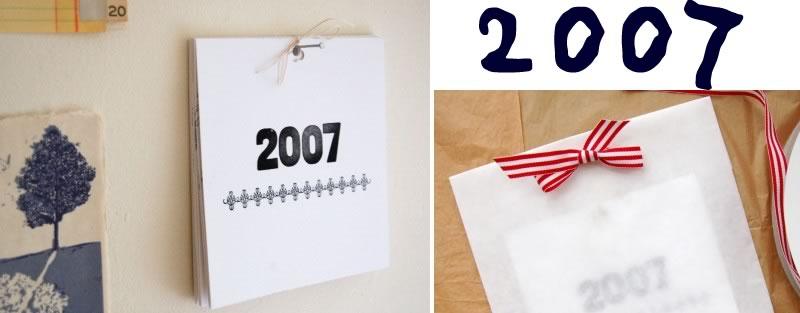 2007 Calendar Round Up!