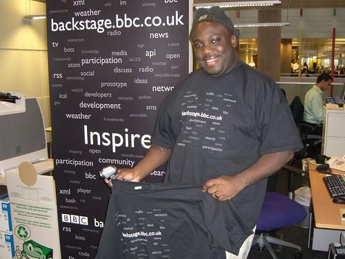 backstage.bbc.co.uk T-Shirts