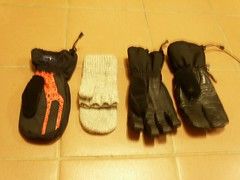 photo of gloves and mittens