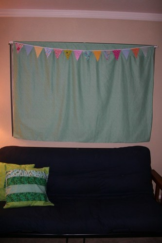 bunting with window