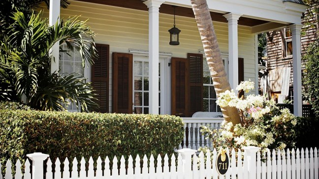 Typical home in Old Town neighborhood of Key West