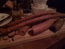 Kielbasa & wild boar sausage