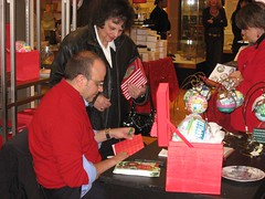 Michael Storrings Ornament Signing