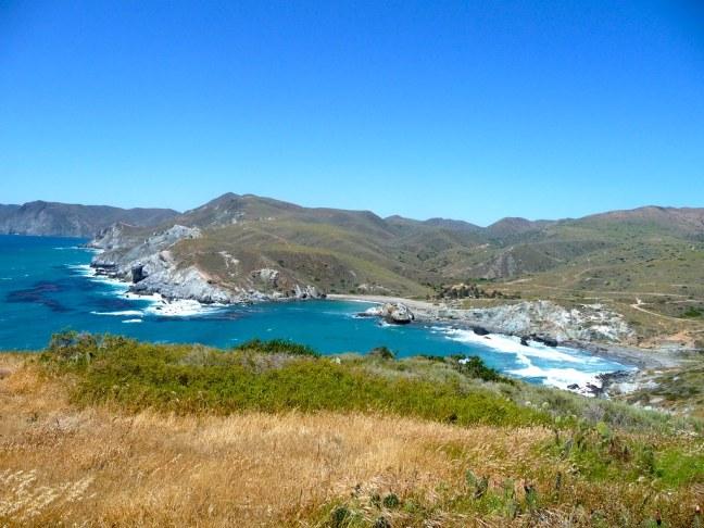 Seaward side of Catalina Island