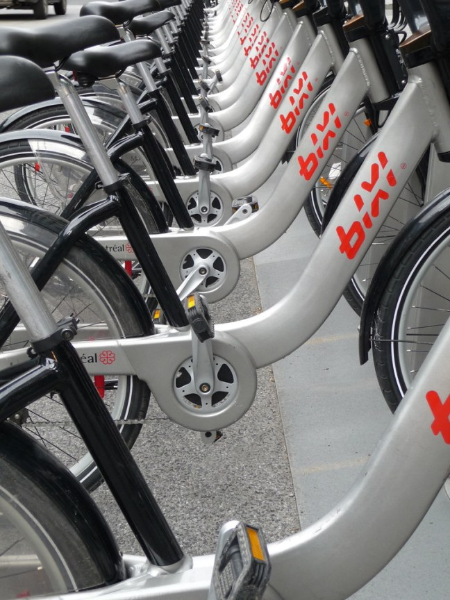 BIXI, the Public Bike System in Montréal