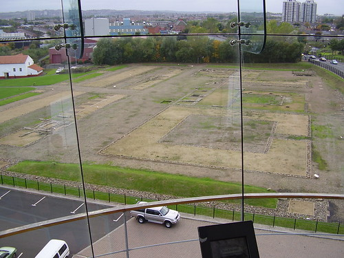 View from the Observation Tower, Wallsend