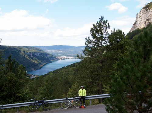 Above Lac de Nantua
