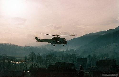 Puma over Visoko