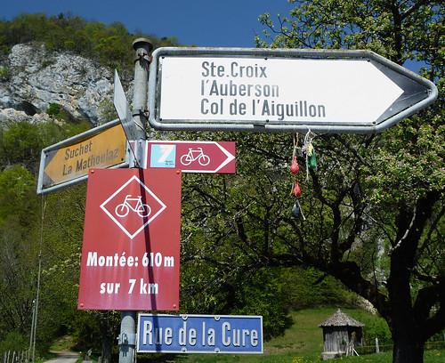 Start of Col d'Aiguillion