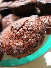 chocolate financier