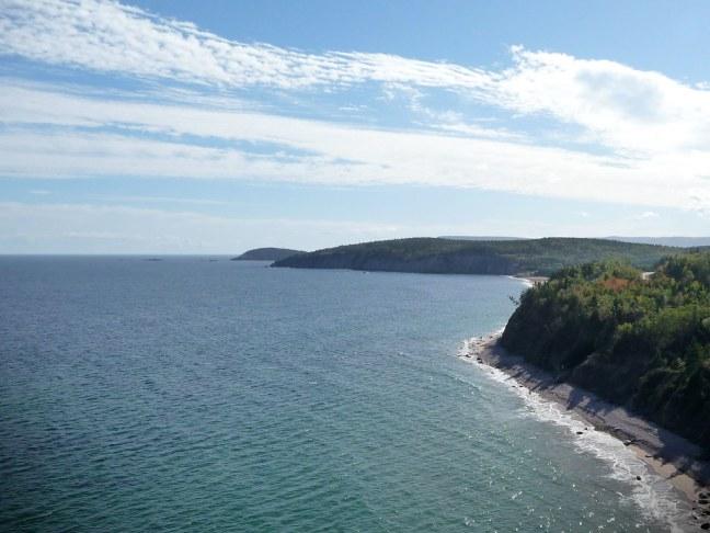 Cabot Trail on Cape Breton Island