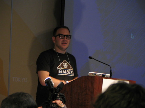 Cory Doctorow talking