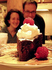 flourless chocolate torte IV