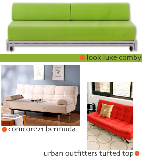 Convertible Sofa Options - Your Thoughts?