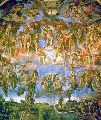 The Last Judgement - Michelangelo