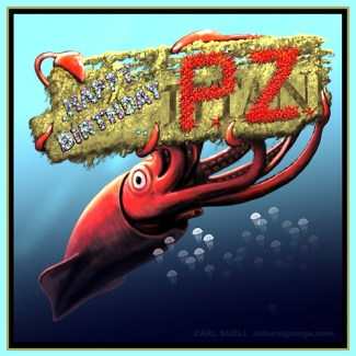 PZ Birthday Squid