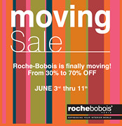 Roche-Bobois Boston: Moving Sale! June 3-11