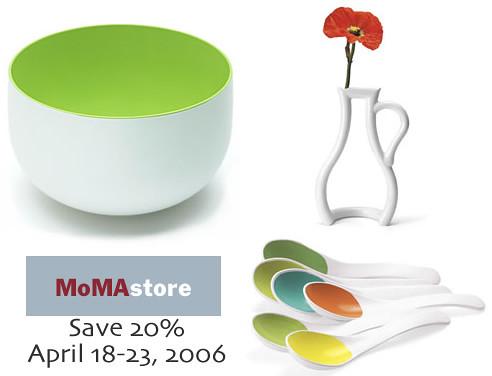 MoMA Design Store - Save 20%