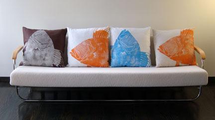 Dermond Peterson - pillow power!