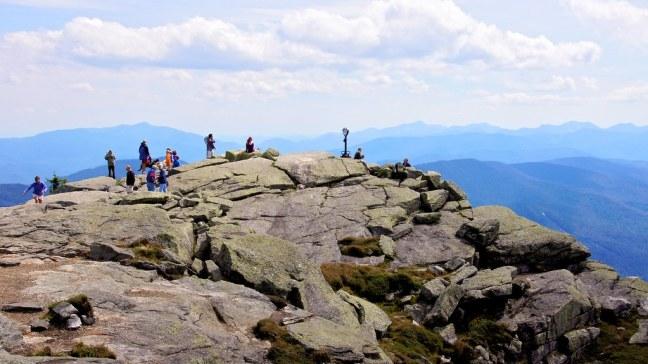 360-degree views atop Whiteface Mountain