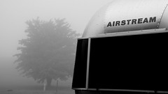 Airstream in the fog