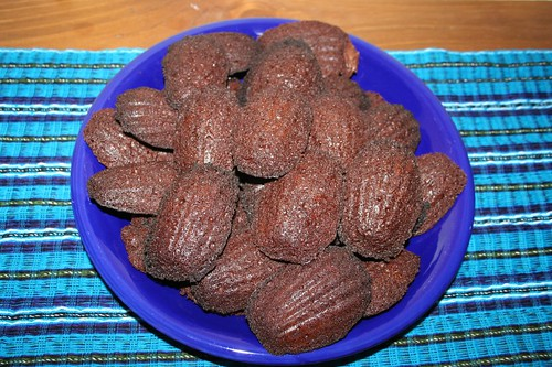 Brownie madeleines