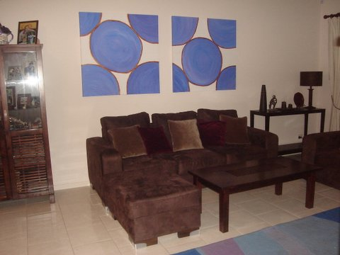 Diptych Paintings on the Wall