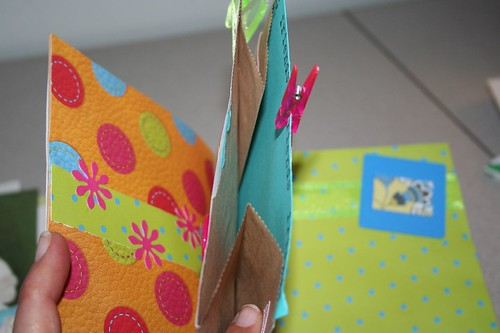awesome paper bag memory book
