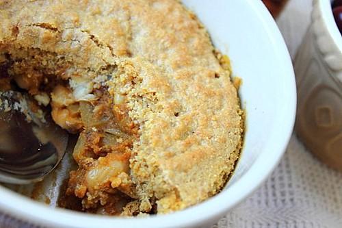 Pumpkin Bean Cornbread Casserole (18)