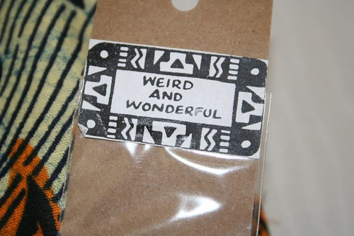 Weird and wonderful indeed