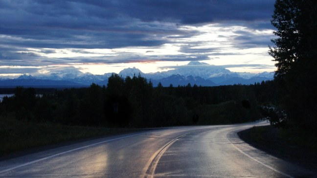 Mt. Foraker, Mt. Hunter, Denali