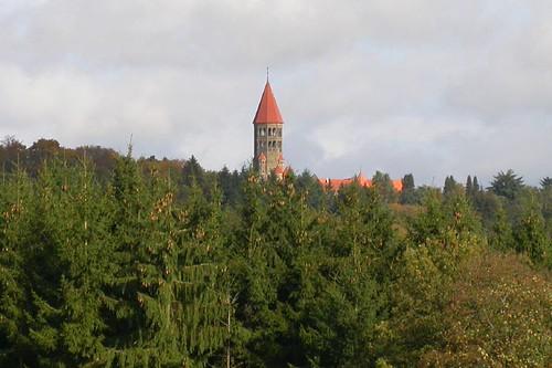 De abdij van Clervaux