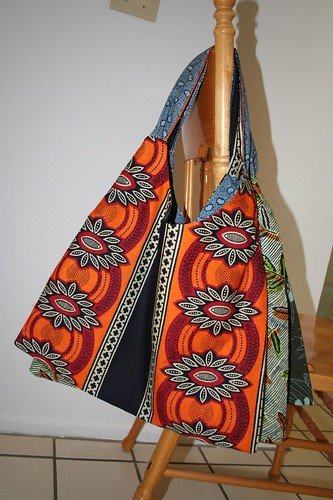 New crop of swing bags with African fabrics
